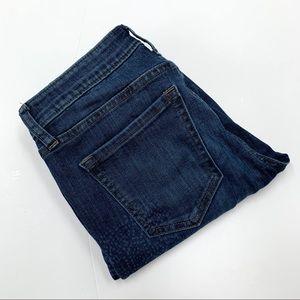 GAP I Patterned Skinny Jeans 25 Regular